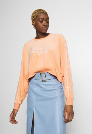RETRO FEMME CREW TERRY - Sweatshirt - orange trance