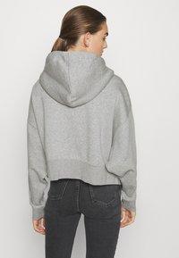 Nike Sportswear - Bluza rozpinana - dark grey heather/white - 2