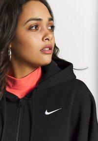 Nike Sportswear - TREND - Mikina na zip - black/white - 5