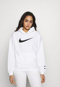 Nike Sportswear - HOODIE  - Bluza z kapturem - white/black - 0