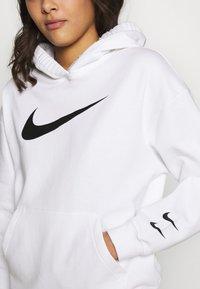 Nike Sportswear - HOODIE  - Bluza z kapturem - white/black - 5