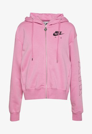 AIR HOODIE - Hettejakke - magic flamingo/ice silver
