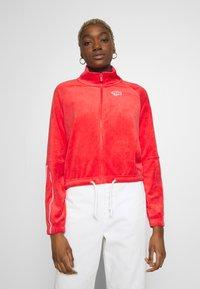 Nike Sportswear - RETRO - Zip-up hoodie - track red - 0