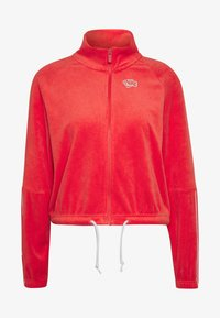 Nike Sportswear - RETRO - Zip-up hoodie - track red - 4