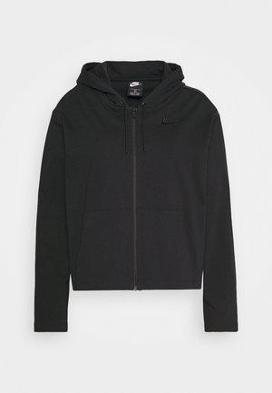 HOODIE PLUS - Mikina na zip - black