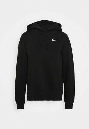 HOODIE TREND - Mikina s kapucí - black/white