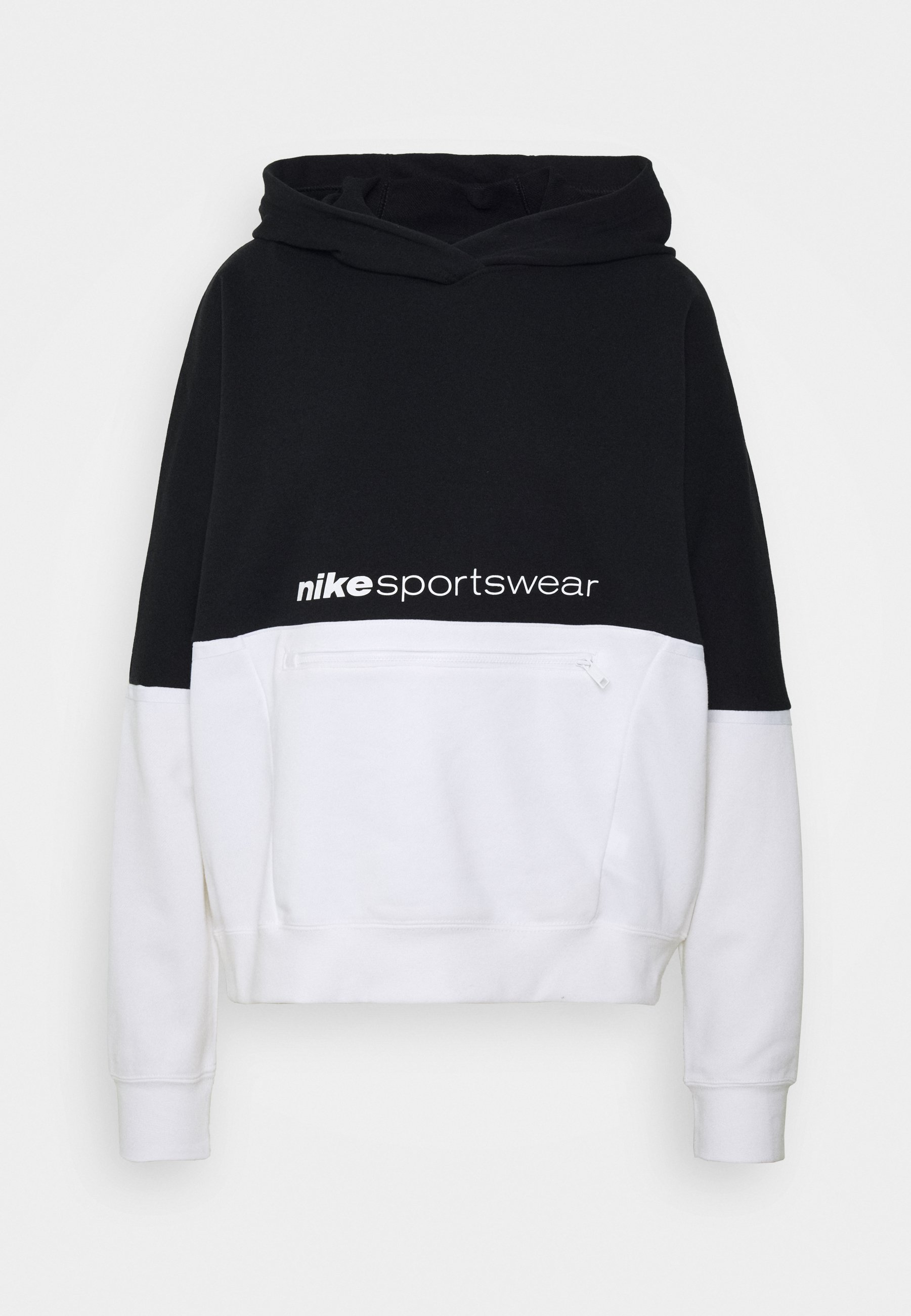 Nike Sportswear Sweat à capuche black ZALANDO.FR