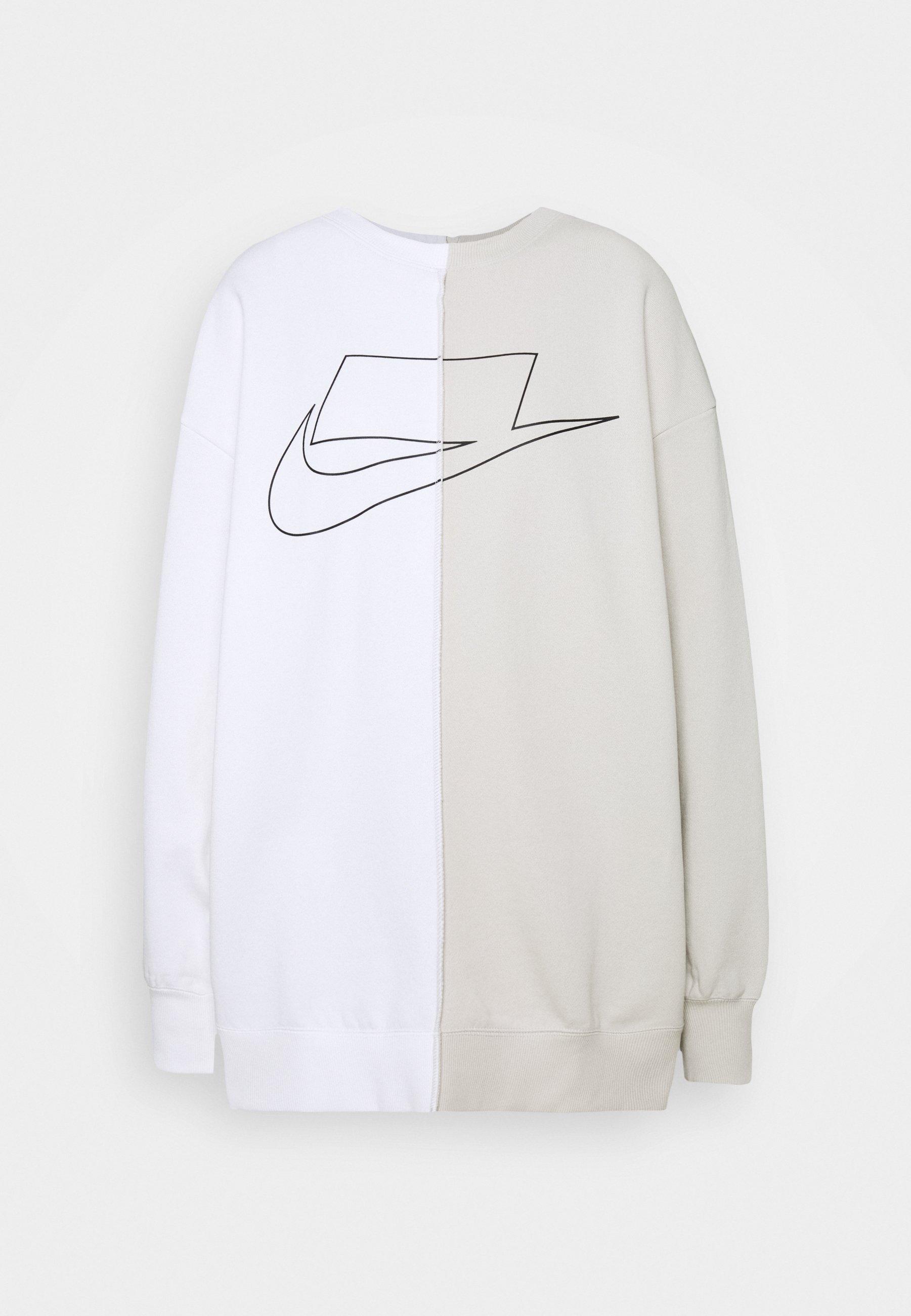 CREW veste en sweat zippée light bonewhiteblack