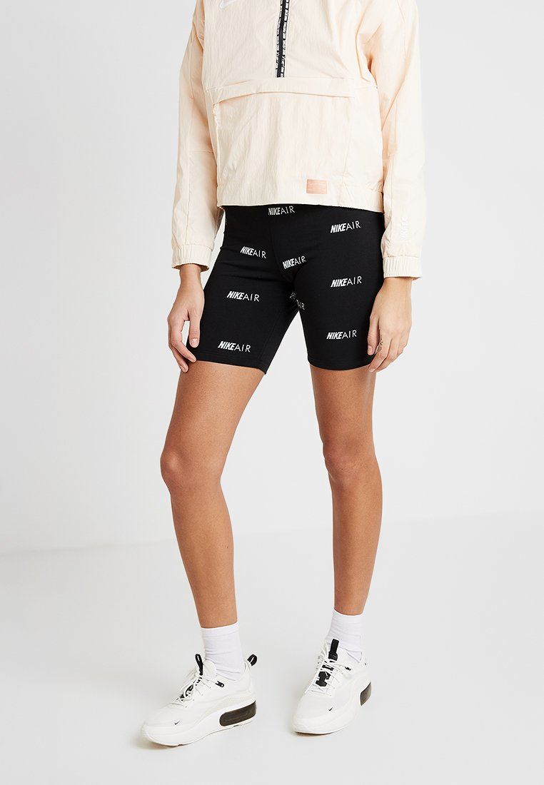 Nike Sportswear - AIR BIKE - Shorts - black/white