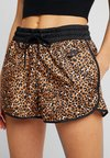 Nike Sportswear - Shorts - desert ochre/black/white