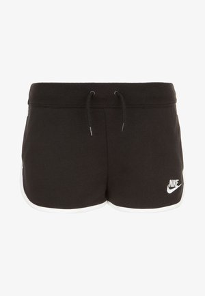 HERITAGE  - Shorts - black / white