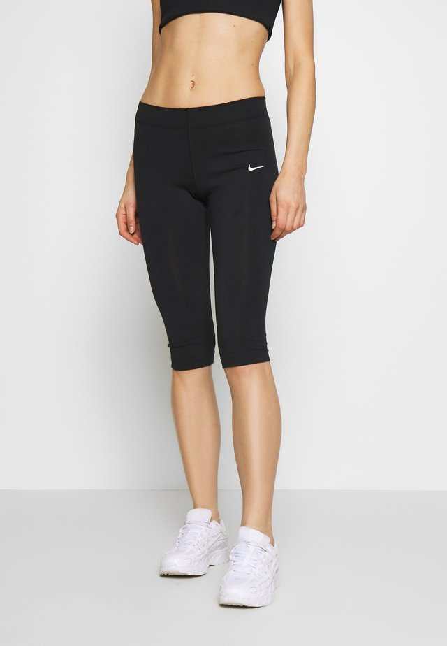 W NSW LEGASEE LGGNG KNEE LNGTH - Leggings - black/white