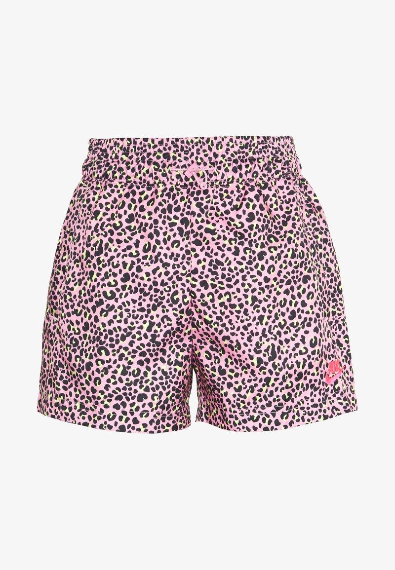 Nike Sportswear - W NSW AOP WVN PRNT PACK SHORT - Shorts - pink