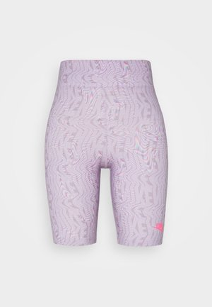 W NSW FESTIVAL AOPBIKE  - Shorts - iced lilac/digital pink