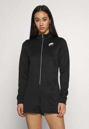 AIR ROMPER - Jumpsuit - black/ice silver