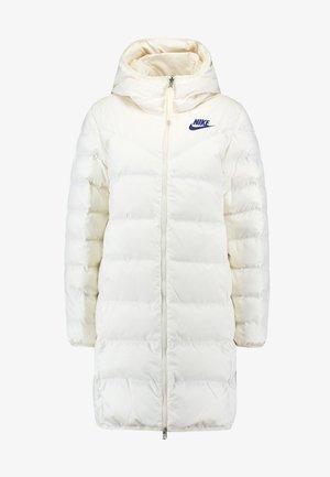 Płaszcz puchowy - pale ivory/blue void