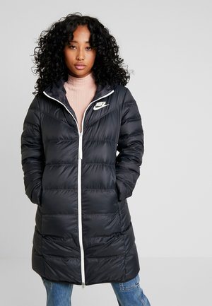 Down coat - black/black/sail