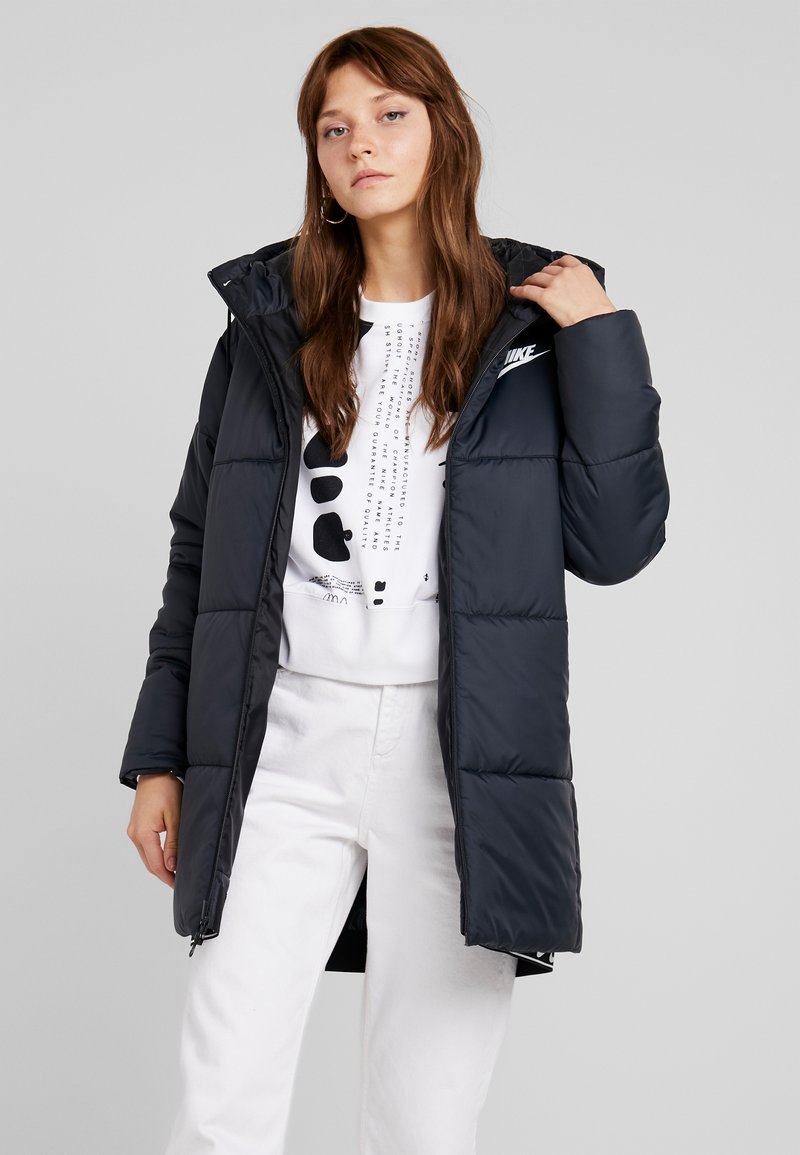 Nike Sportswear - FILL - Winter coat - black/white