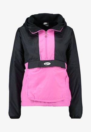 ANORAK - Light jacket - black/china rose