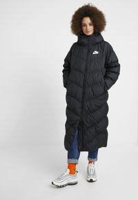 Nike Sportswear - FILL PARKA  - Dunkappa / -rock - black - 0