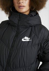 Nike Sportswear - FILL PARKA  - Dunkappa / -rock - black - 7