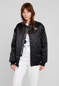 Nike Sportswear - SYN FILL  - Bomber bunda - black - 0