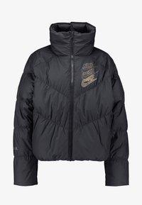 Nike Sportswear - FILL SHINE - Dunjacka - black/gold - 4