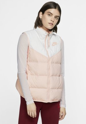 Veste sans manches - white/echo pink/echo pink