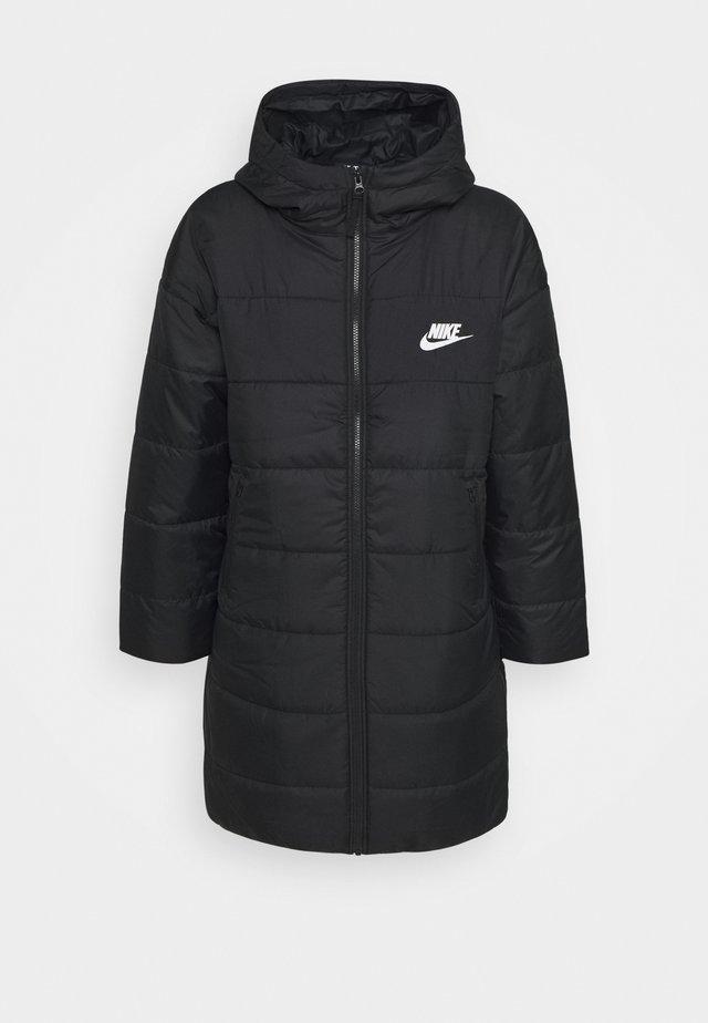 CORE PARKA - Winter coat - black/white