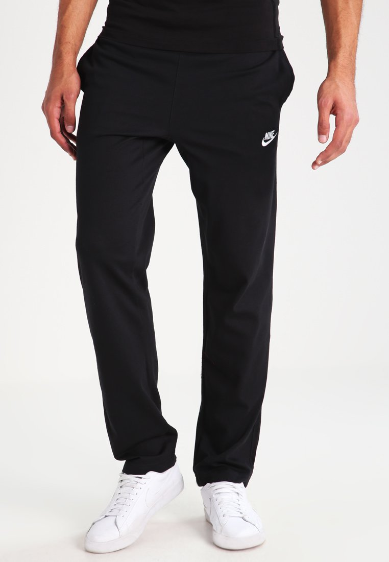 Nike Sportswear - OH CLUB - Tracksuit bottoms - black/white