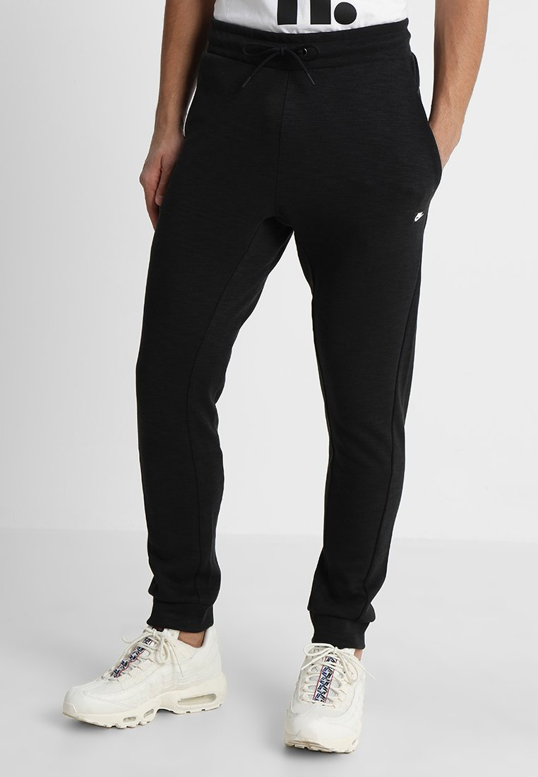 Nike Sportswear - OPTIC - Tracksuit bottoms - black