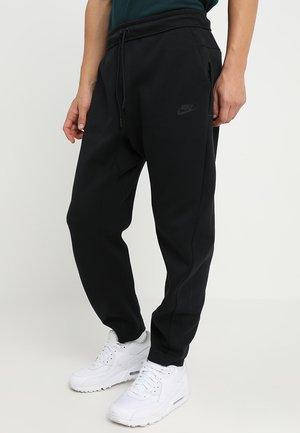 PANT - Trainingsbroek - black/black