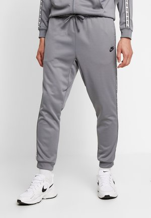 POLY - Tracksuit bottoms - cool grey/black