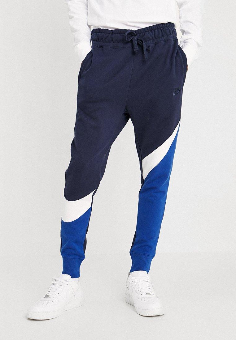 Nike Sportswear - Pantalon de survêtement - indigo force/white/obsidian