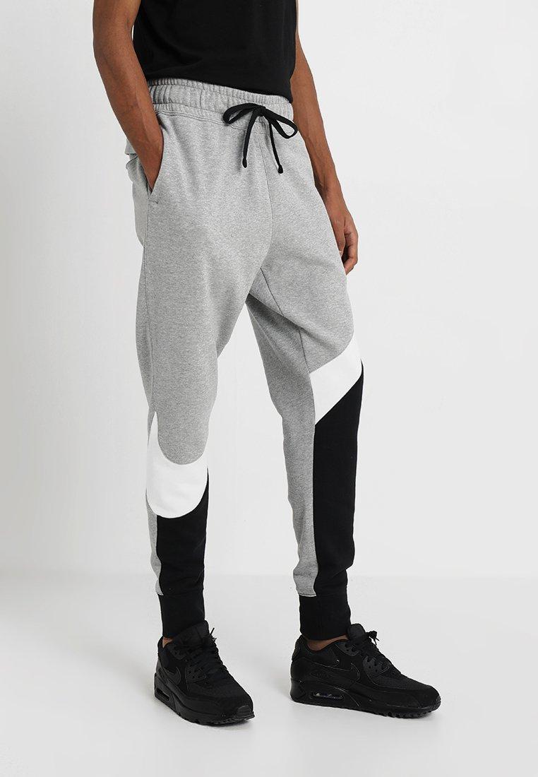 Nike Sportswear - Pantaloni sportivi - black/white/grey heather