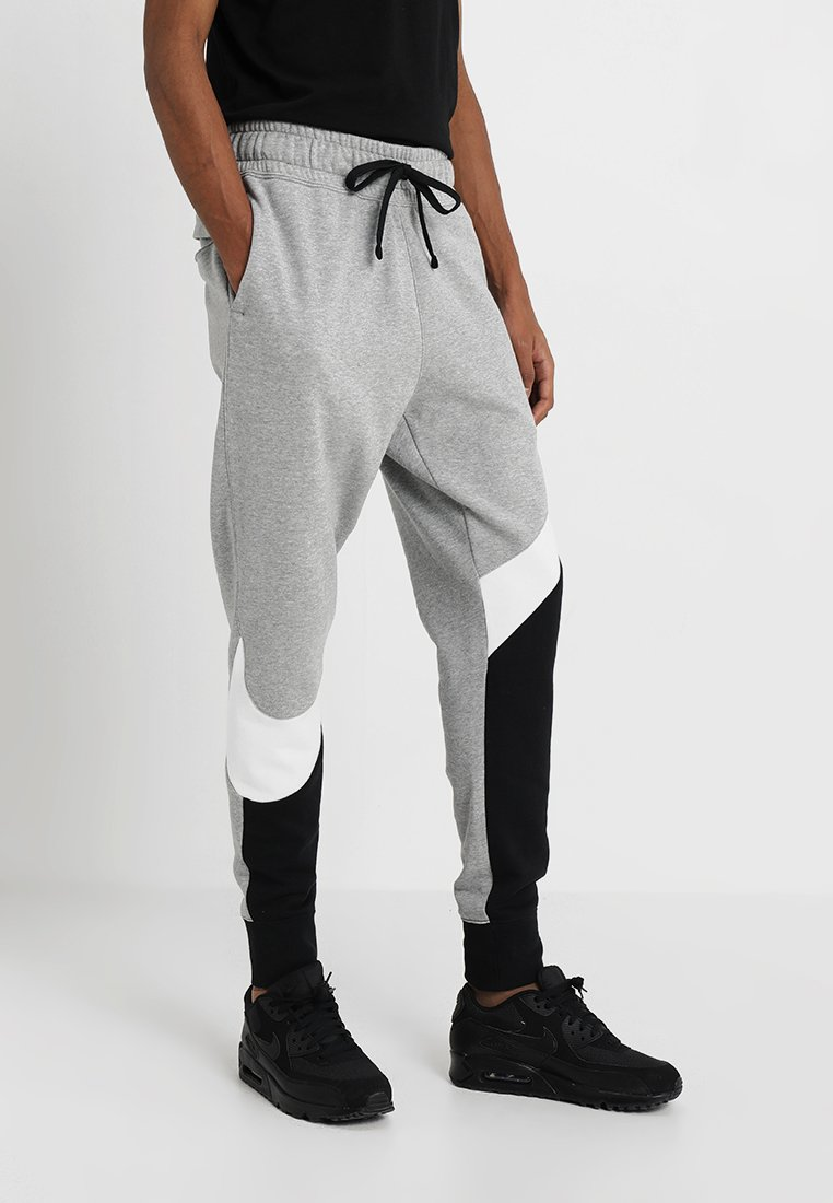 Nike Sportswear - Trainingsbroek - black/white/grey heather