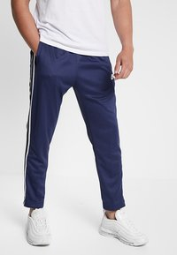 Nike Sportswear - PANT TRIBUTE - Träningsbyxor - midnight navy/white - 2