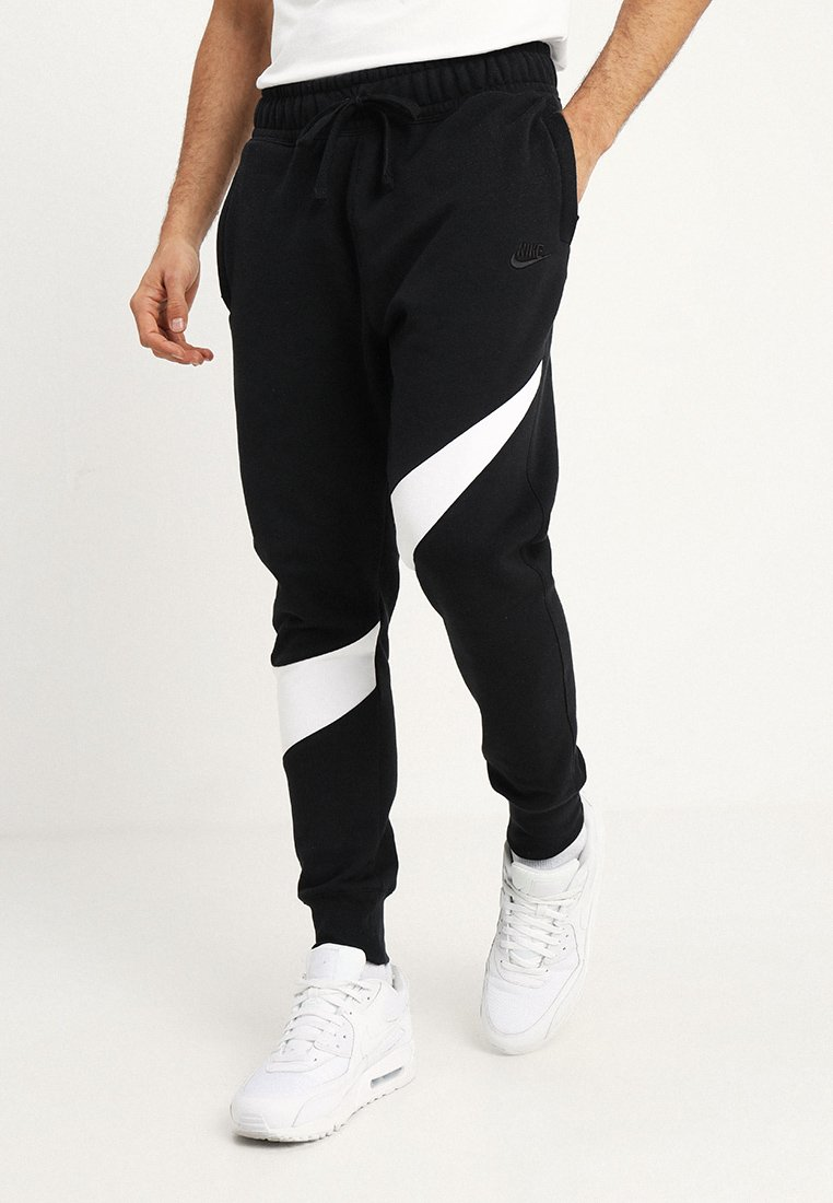 Nike Sportswear - HBR PANT - Verryttelyhousut - black/white