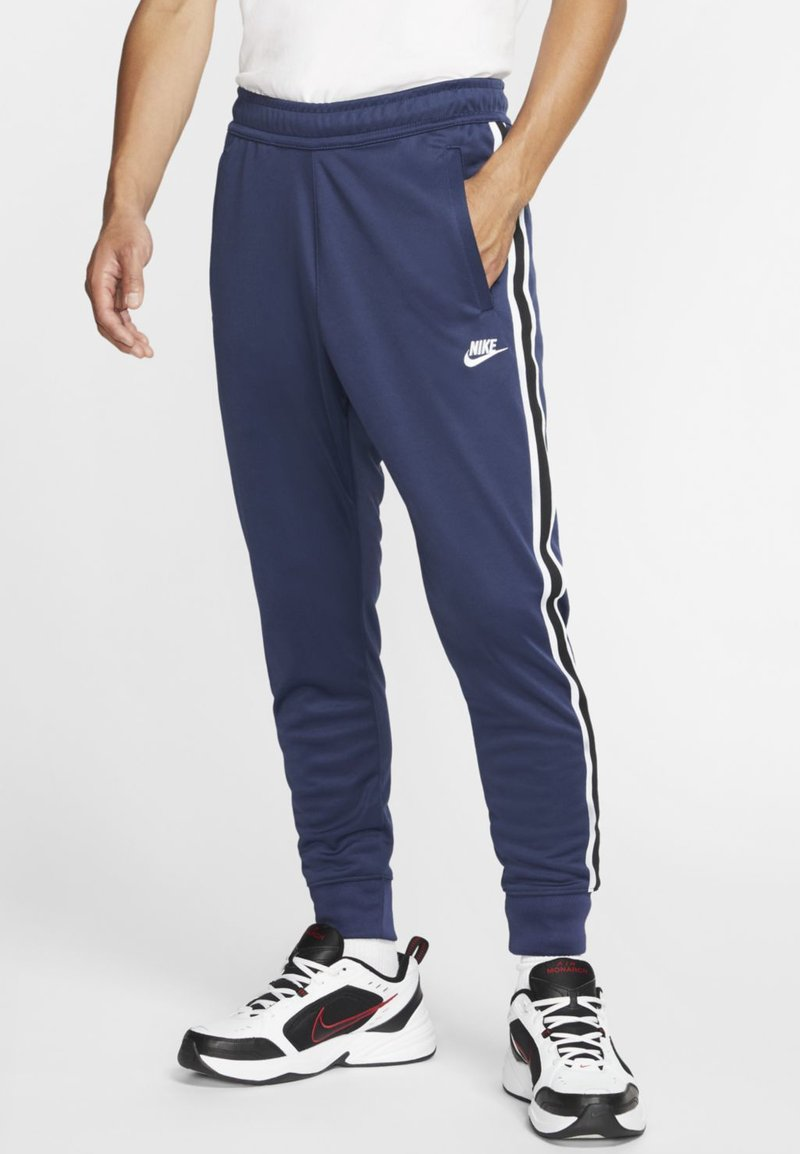 Nike Sportswear - Träningsbyxor - midnight navy/white