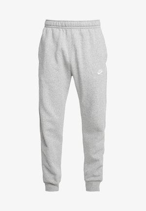 M NSW CLUB JGGR BB - Pantaloni sportivi - dark grey heather/matte silver/white