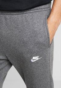 Nike Sportswear - M NSW CLUB JGGR BB - Pantalon de survêtement - charcoal heather/anthracite/white - 3