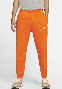 magma orange/white