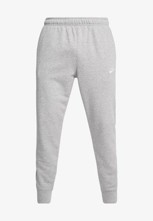 CLUB - Joggebukse - dark grey heather/matte silver/white