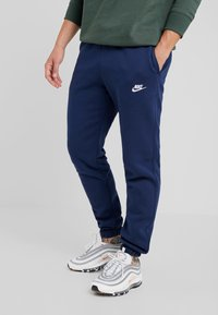 Nike Sportswear - CLUB PANT - Tracksuit bottoms - midnight navy - 0