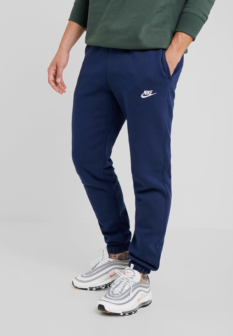 Nike Sportswear - CLUB PANT - Tracksuit bottoms - midnight navy