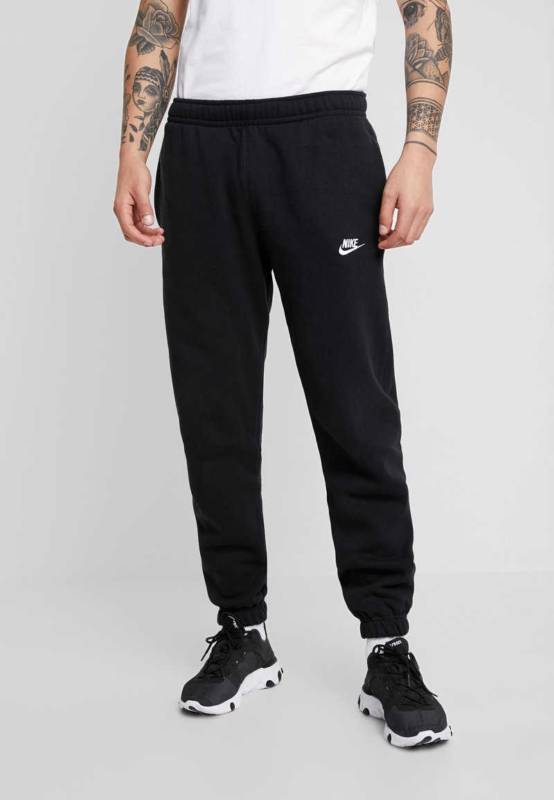 Nike Sportswear - CLUB PANT - Tracksuit bottoms - black