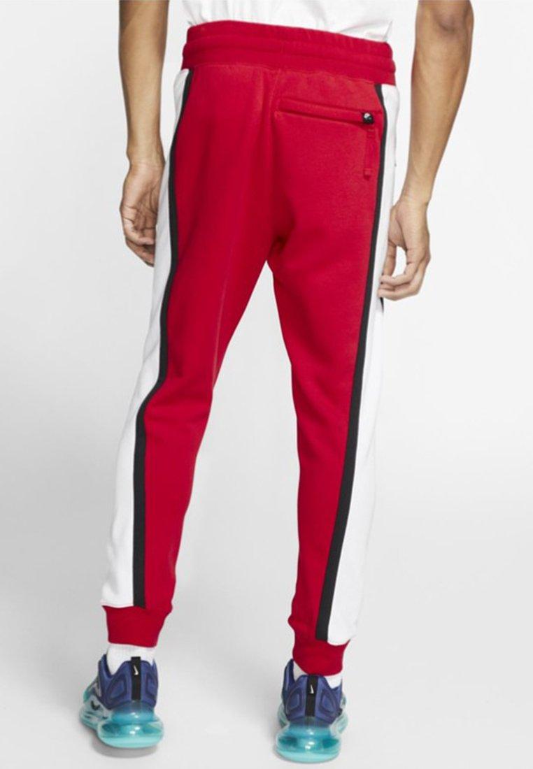 Nike Sportswear AIR - Spodnie treningowe - red/white/black