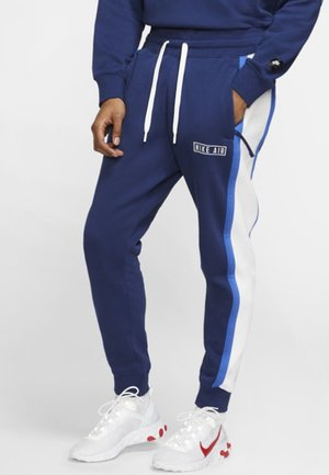 AIR  - Tracksuit bottoms - blue/black/white
