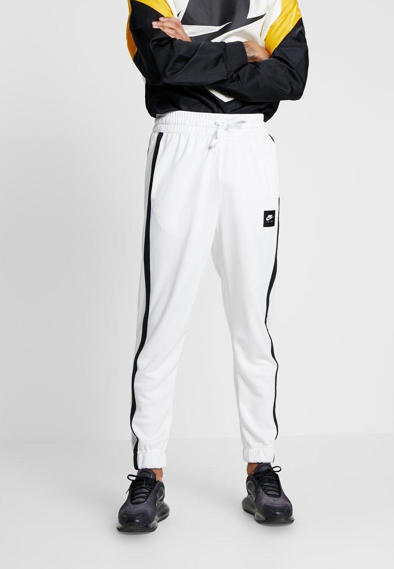 Nike Sportswear - AIR PANT - Tracksuit bottoms - summit white/summit white/black