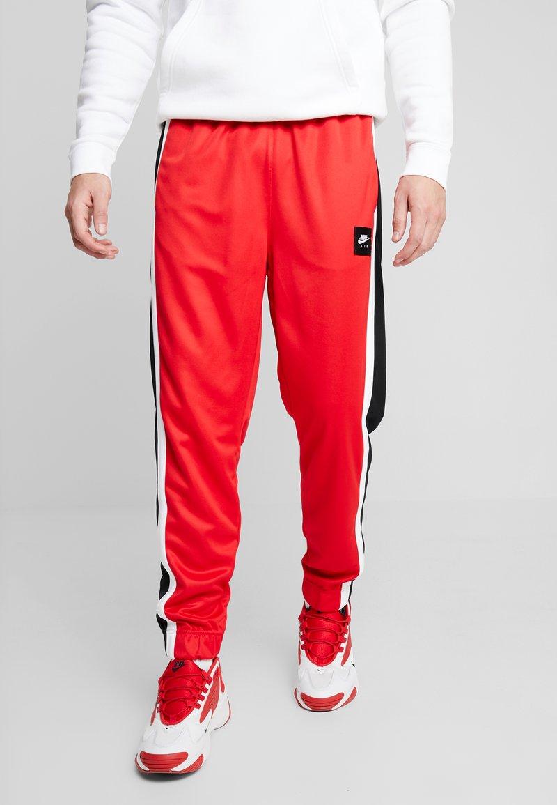 Nike Sportswear - AIR PANT - Pantaloni sportivi - university red/black/white